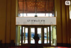 Exhibit Hall Area Banner 13
